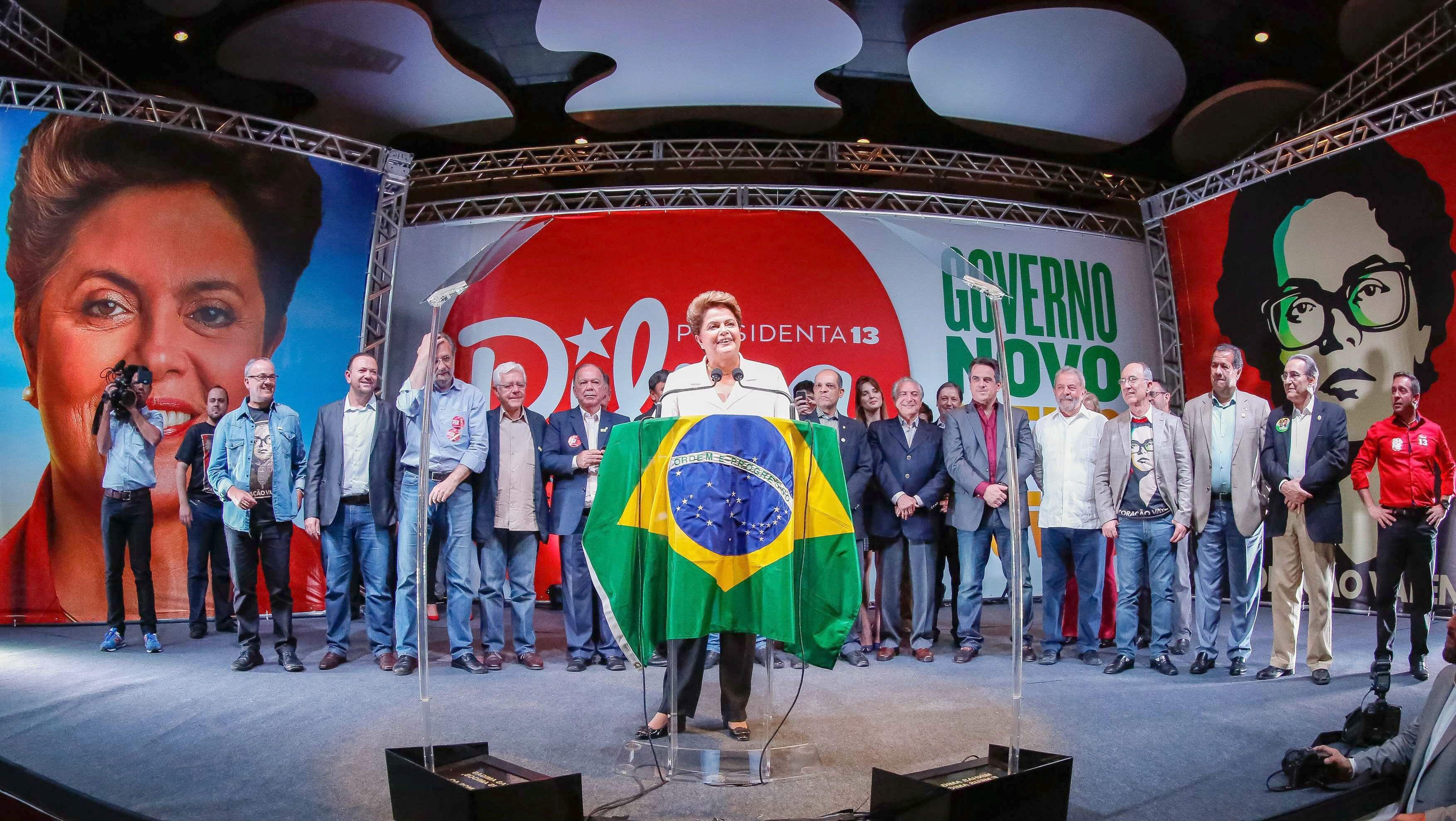 Rebotó la bolsa de San Pablo tras el anuncio de reformas de Rousseff
