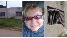Harta de los robos, una mujer donó su casa para construir una comisaría