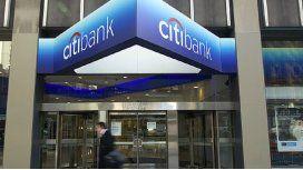 Citibank Argentina fue suspendido para operar en el mercado de capitales