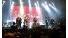 Joaquín Sabina deleitó a su público en Tigre