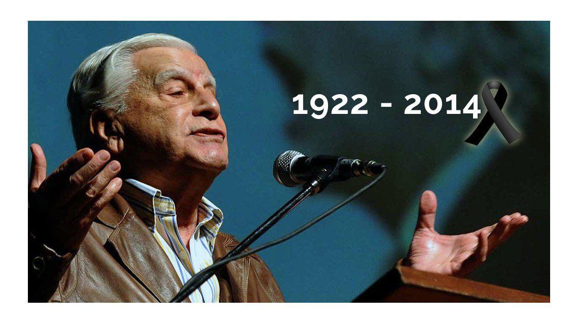 Murió el histórico dirigente peronista Antonio Cafiero
