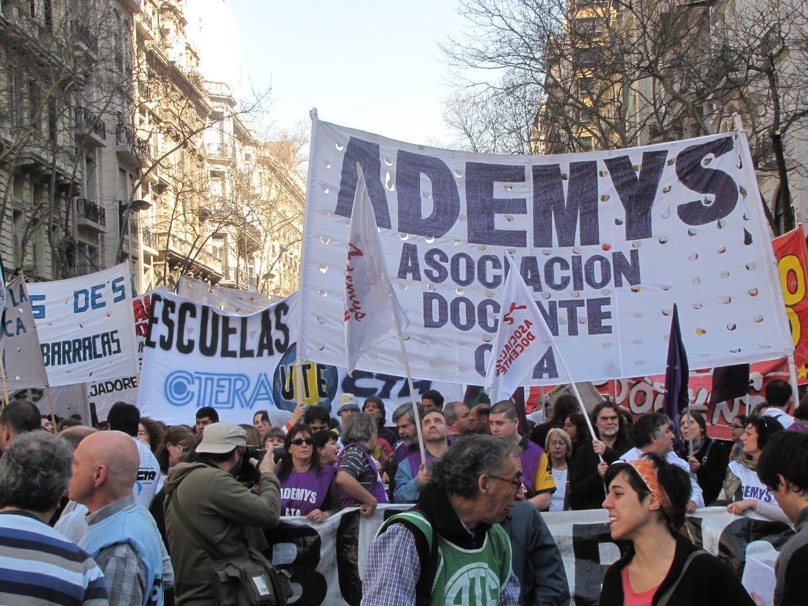 Un gremio docente tildó de poco seria la oferta del gobierno porteño