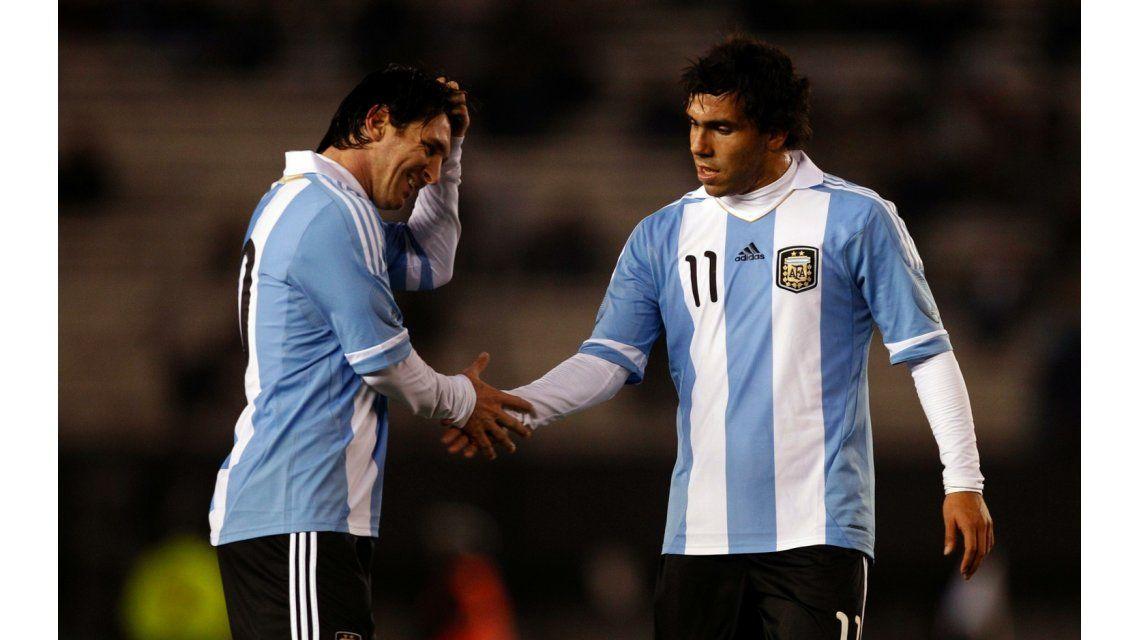 Tevez: No creo que Messi haya tomado una decisión tan difícil a la ligera