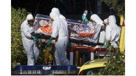 Trasladaron a Río al presunto infectado con ébola