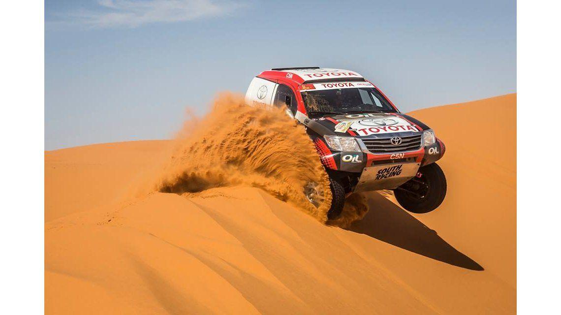 Gran actuación de los pilotos argentinos en el rally de Marruecos