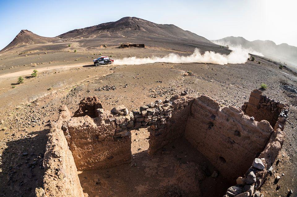 Las mejores fotos del apasionante rally de Marruecos