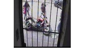 Quedó paralítico el ladrón que robó una moto