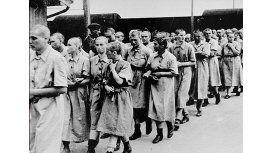 Prisioneras en Auschwitz-Birkenau