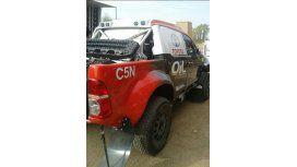 El equipo Oil C5N se prepara para la penúltima fecha del rally