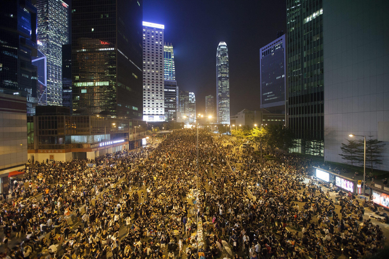 FireChat, la aplicación que usan en Hong Kong para organizarse