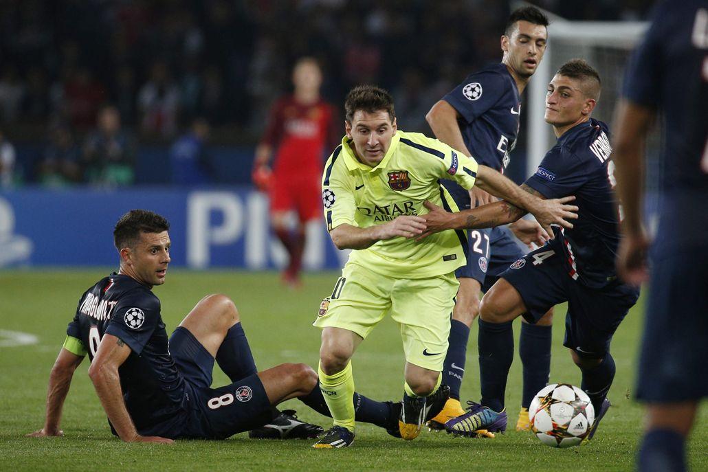 Messi tendrá otra vez enfrente al Paris Saint Germain