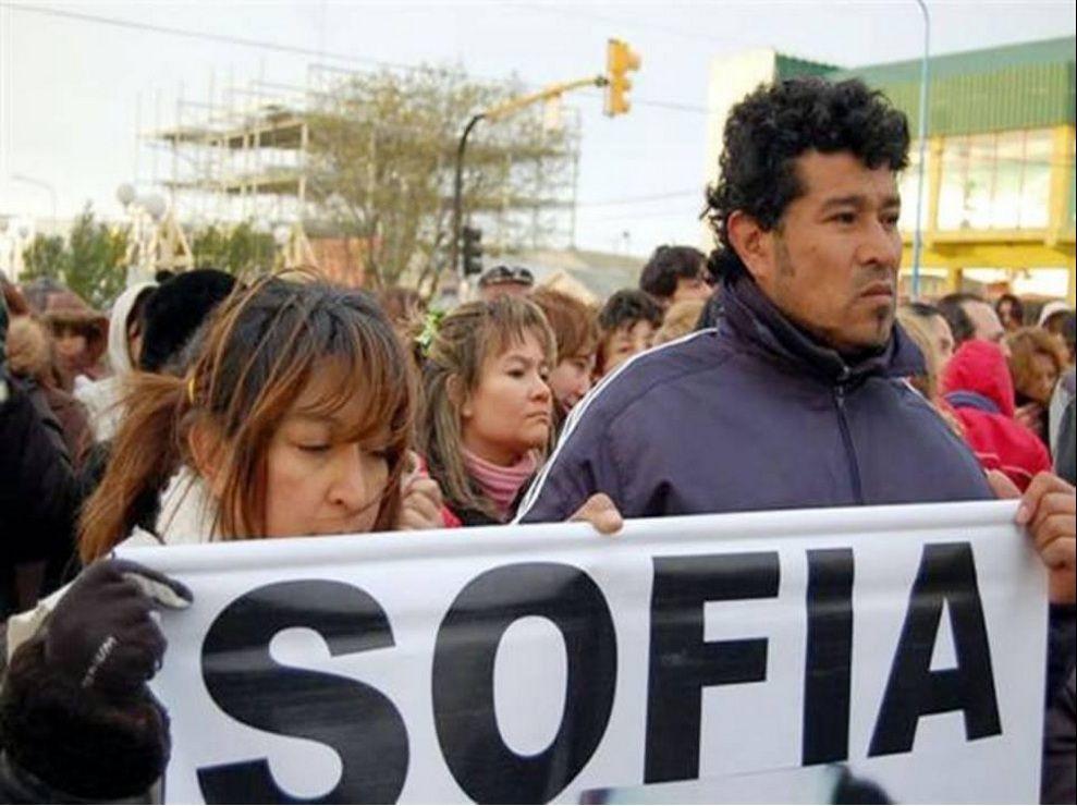<p>Los papás de Sofía, María Elena Delgado y Fabián Herrera</p>