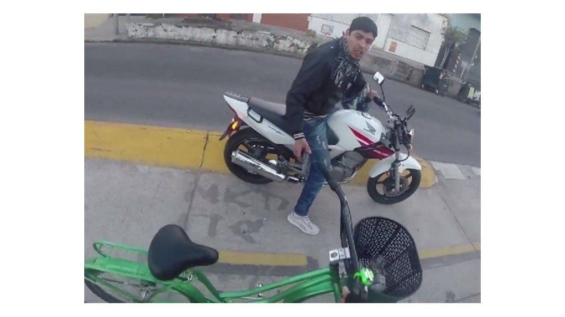 El motochorro de La Boca, entre los videos más vistos del mundo en los últimos días