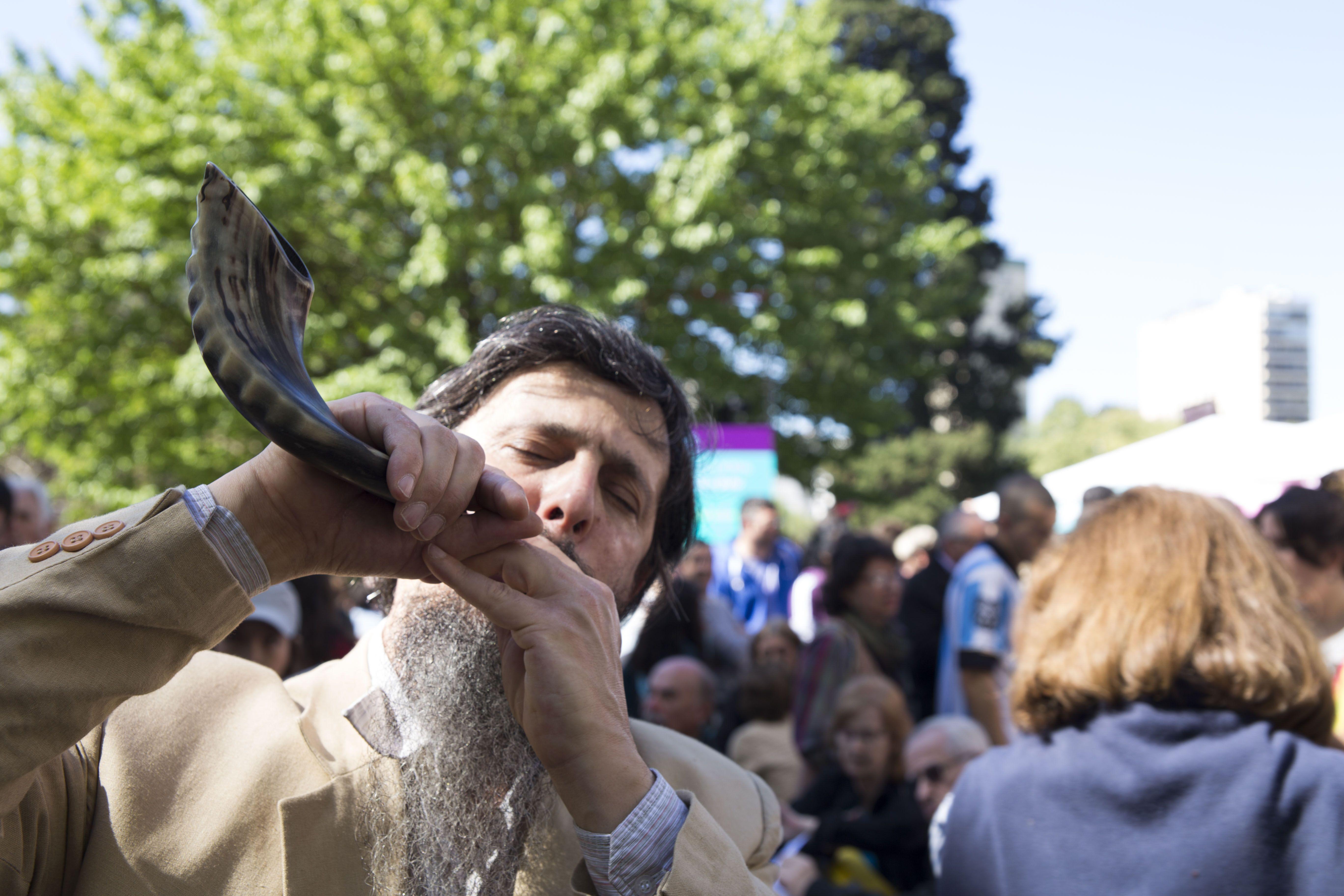 Más de 35 mil personas participaron de los festejos por el Año Nuevo judío