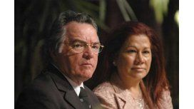 Graciela Camaño se diferenció de los dichos de su esposo sobre un estallido social