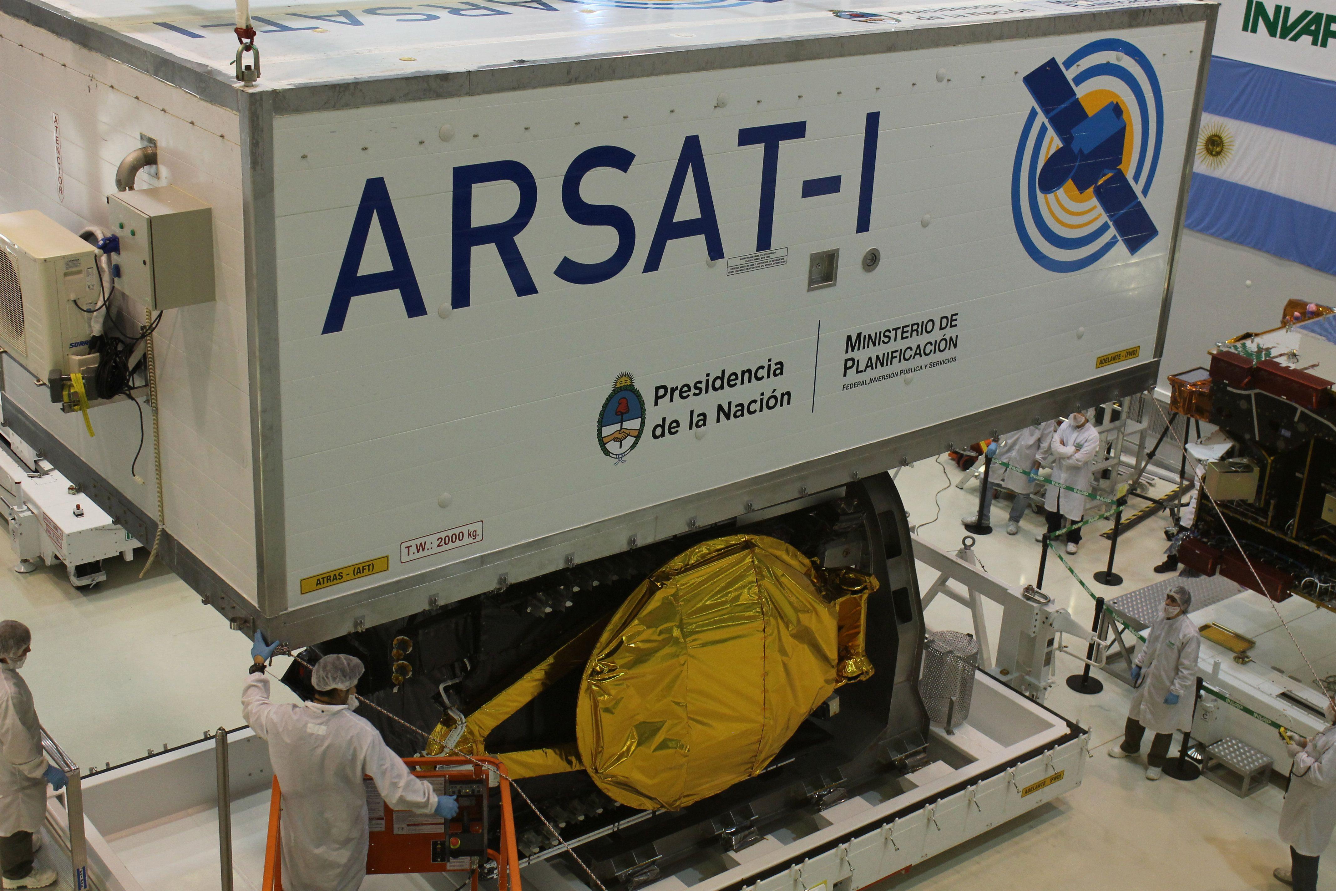 Todo listo para enviar el primer satélite argentino al espacio