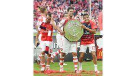 El Arsenal goleó al Manchester City y se quedó con la Community Shield