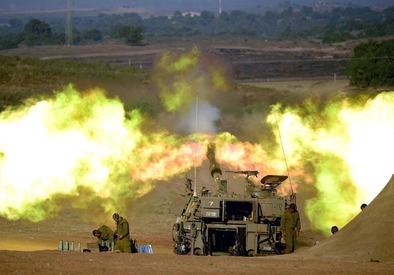 Al finalizar la tregua de 12 horas volvieron los bombardeos a la Franja de Gaza