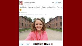 Indignación en las redes por una selfie en Auschwitz que se convirtió en viral