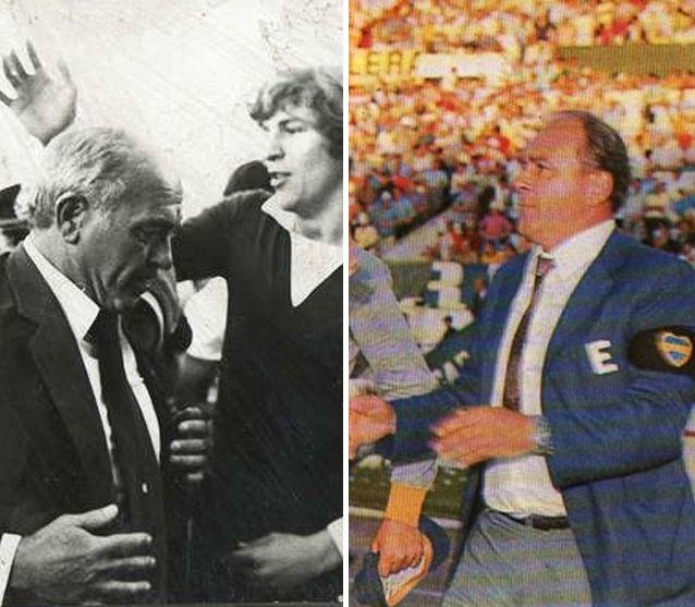 Alfredo Di Stéfano, el único DT campeón con River y Boca