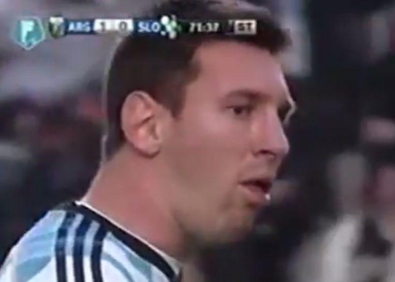 El padre de Messi explicó la causa de los vómitos de Lionel