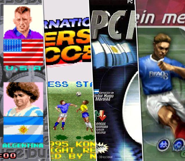 Estos Son Los Mejores Videojuegos De Futbol De La Historia Videojuegos