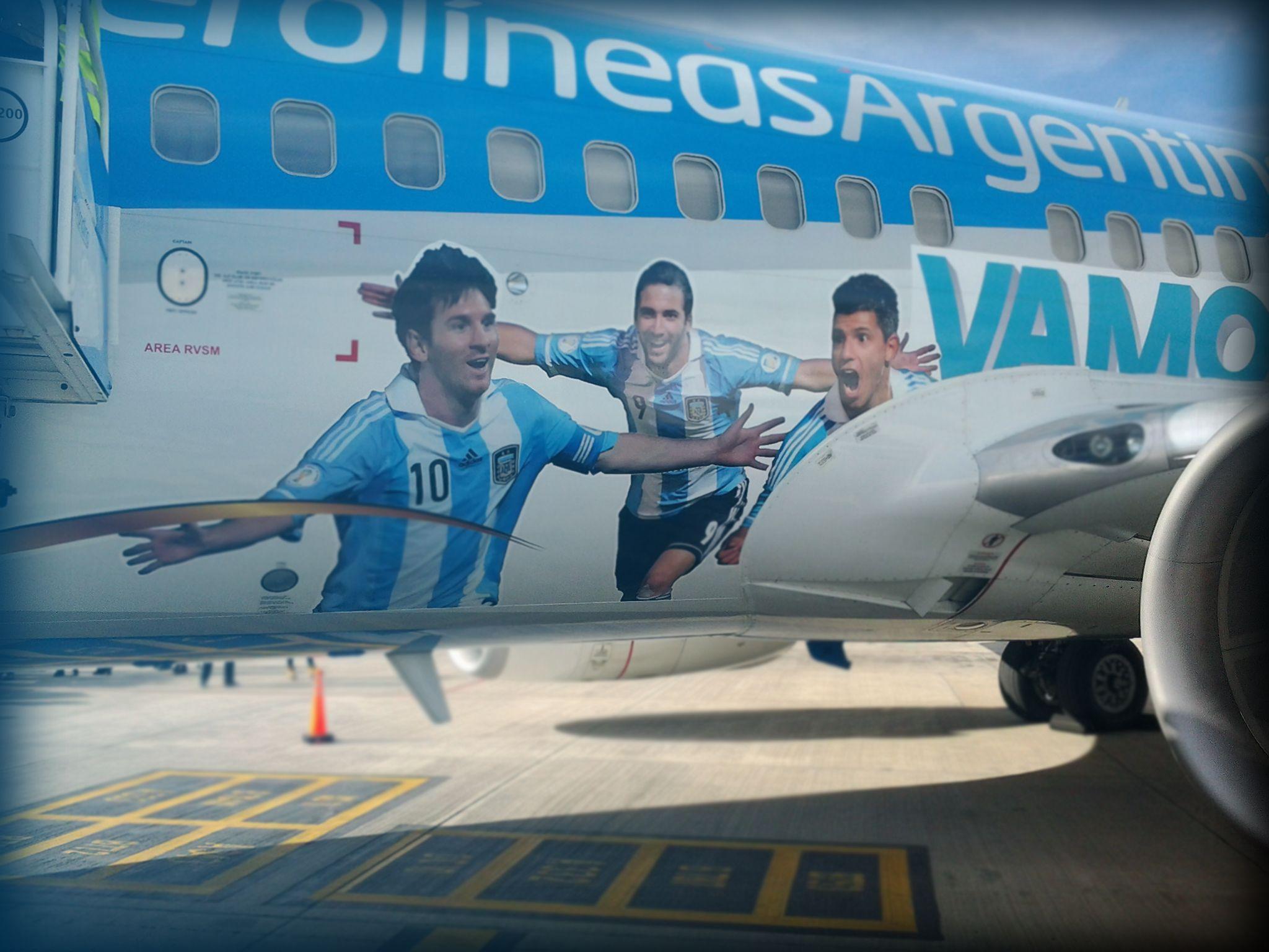 Aerolíneas Argentinas dispuso vuelos especiales a San Pablo por el partido de Argentina en semis