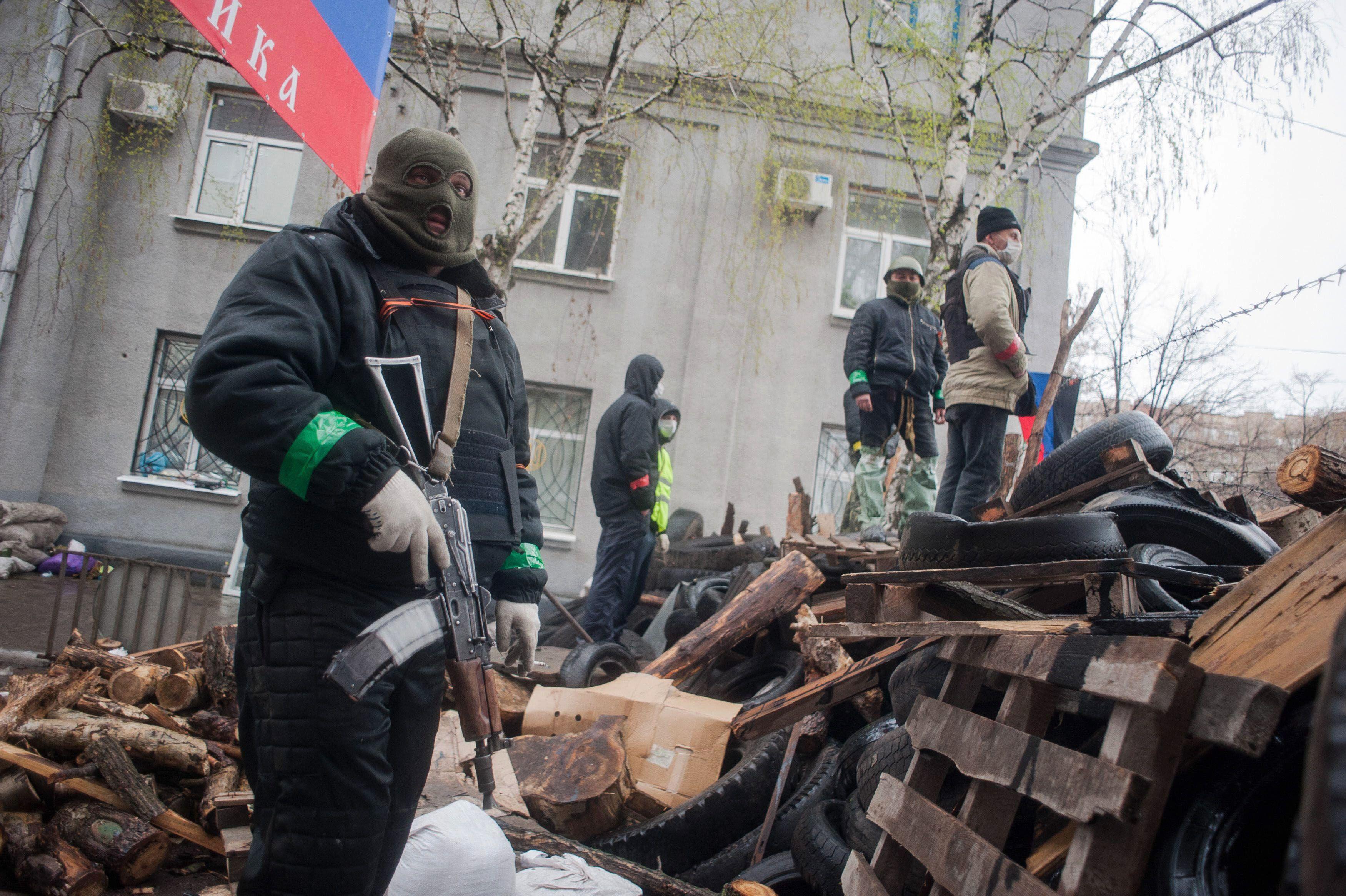 El Gobierno de Ucrania quiere llevar adelante una operación antiterrorista con la ONU