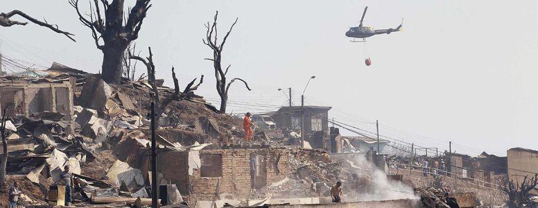 El Gobierno chileno le pidió ayuda aérea a la Argentina para cubrir las zonas desprotegidas