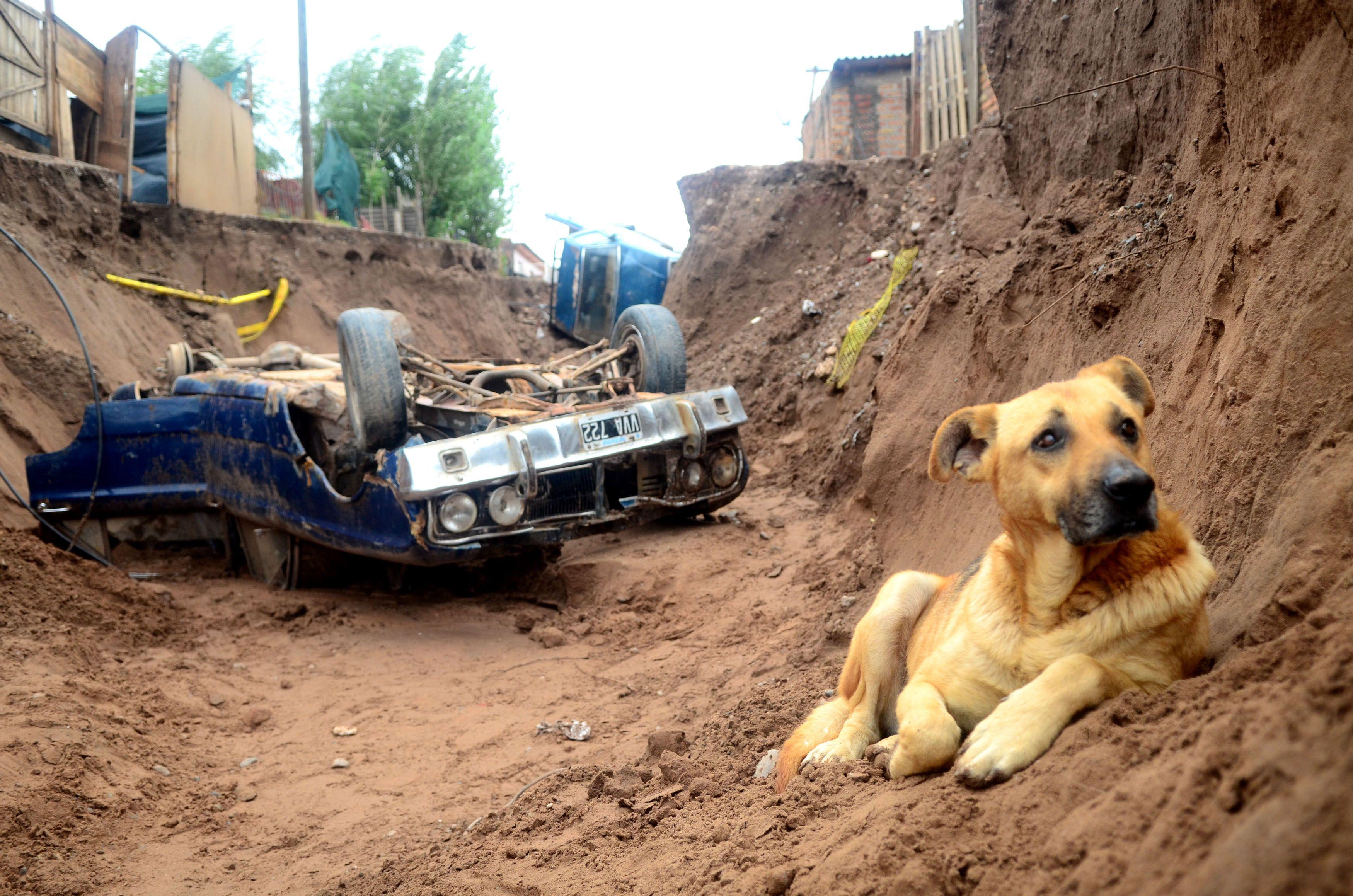 Neuquén: un muerto y más de 1.300 evacuados por el temporal