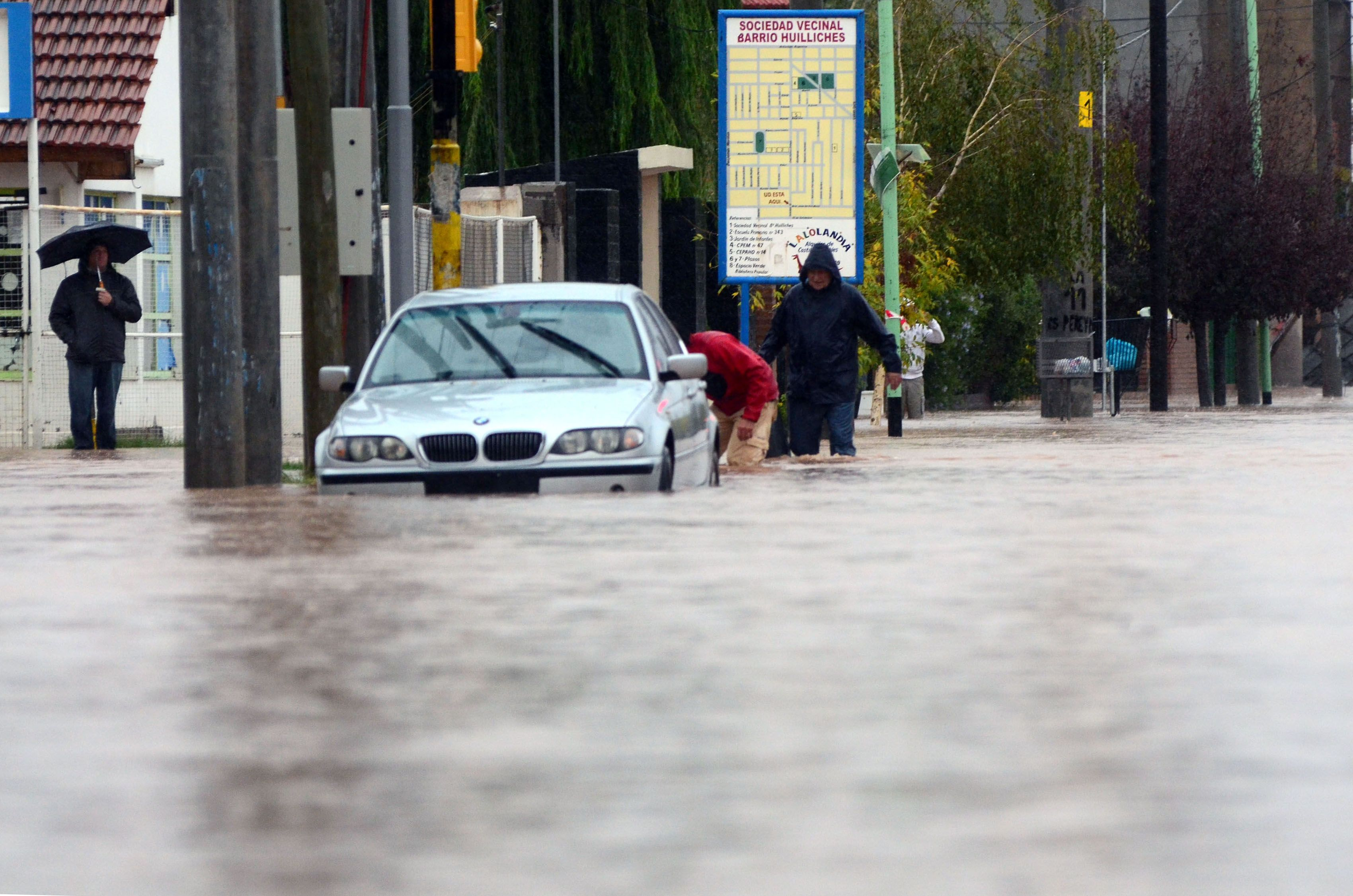 #InundaciónNeuquén: las imágenes más impactantes