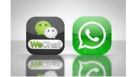 ¿Cuál es el principal competidor de WhatsApp?