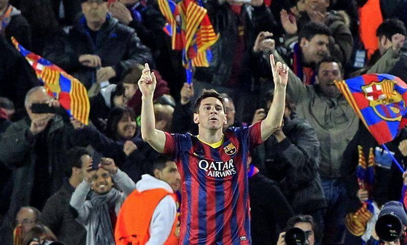 Una pincelada de Messi alcanzó para que Barcelona elimine a Manchester City