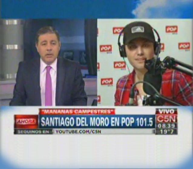 Con humor, Fabián Doman y Santi Del Moro hablaron de actualidad, el trabajo y el amor