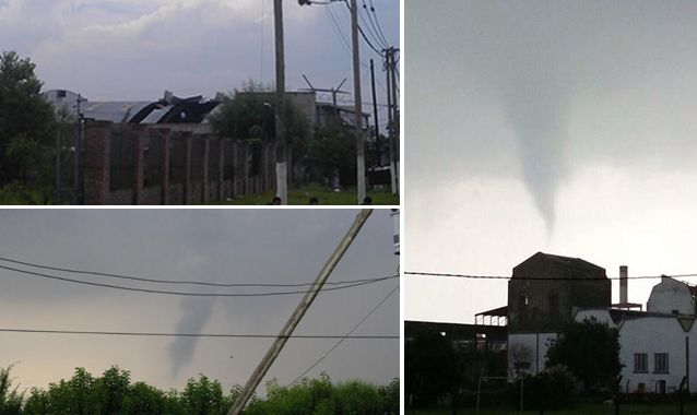 Tornado en Berazategui provocó un apagón en la Ciudad y el Conurbano