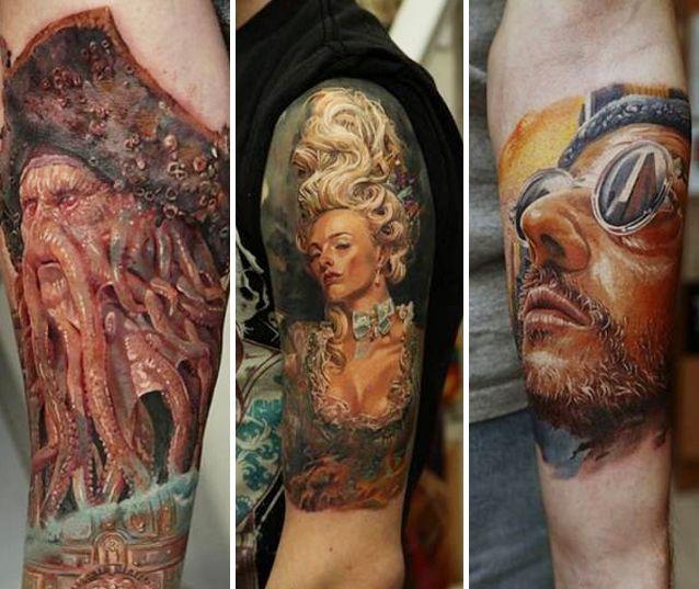Mirá Los Diseños Del Mejor Tatuador Del Mundo