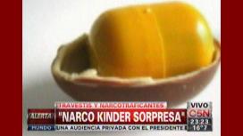 Travestis vendían droga en huevitos de chocolate