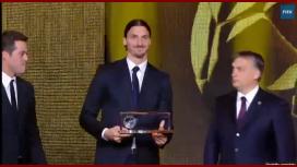 La chilena de Ibrahimovic fue elegida el mejor gol de año