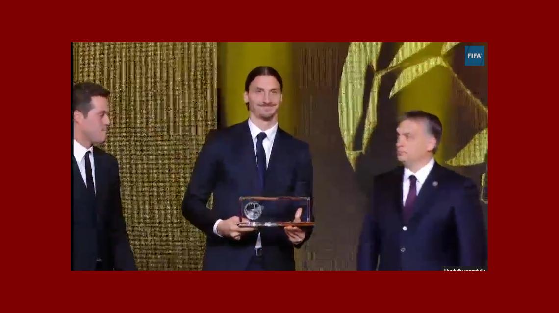 La chilena de Zlatan Ibrahimovic fue el mejor gol de año