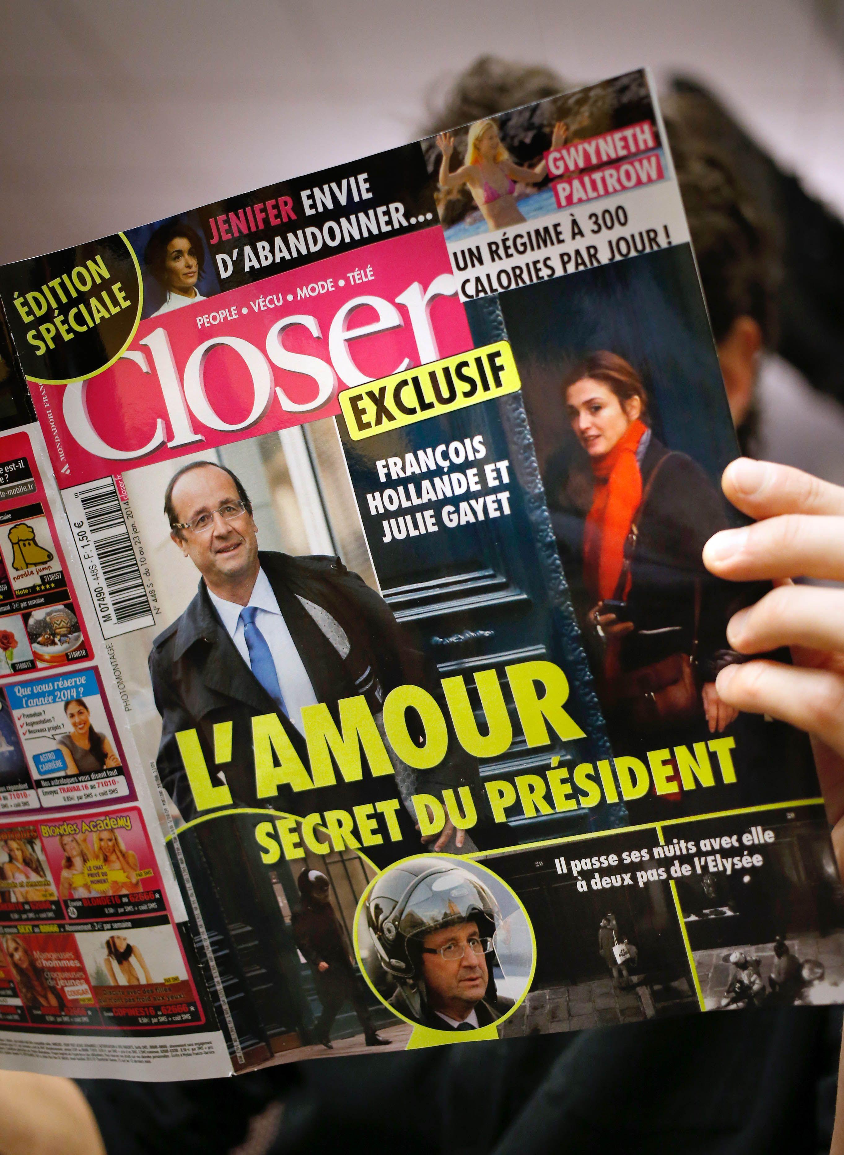 Escándalo en Francia por la supuesta amante del presidente Hollande