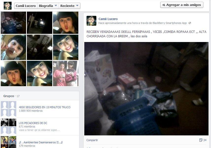 Detuvieron a los saqueadores que publicaron imágenes del botín en sus cuentas de Facebook