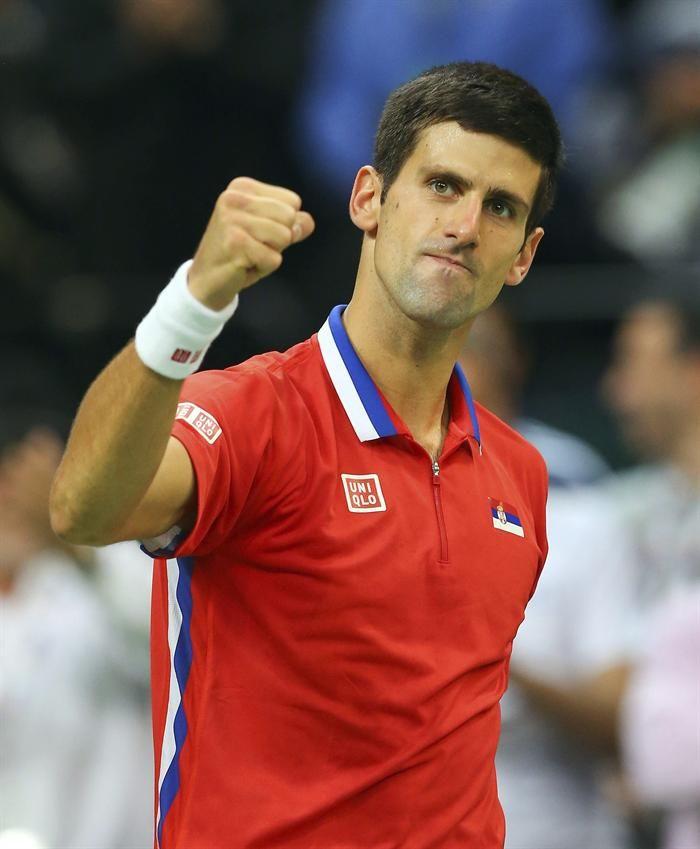 Novak Djokovic conmovió a todos en Villa Soldati