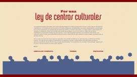 Centros culturales porteños juntan firmas por una ley