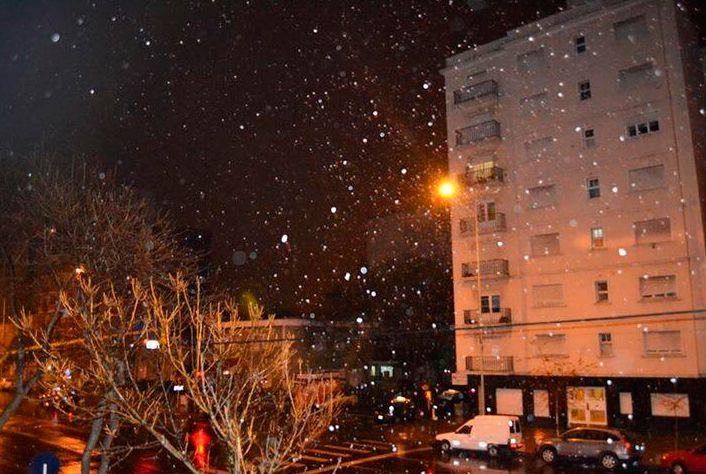 Mar del Plata amaneció con las marcas de la nevada