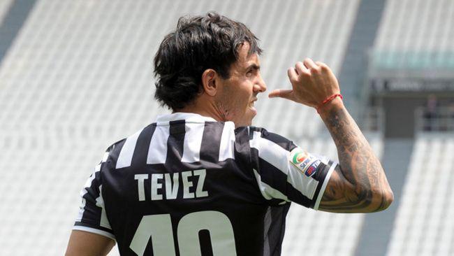 El primer gol de Tevez para la Juventus