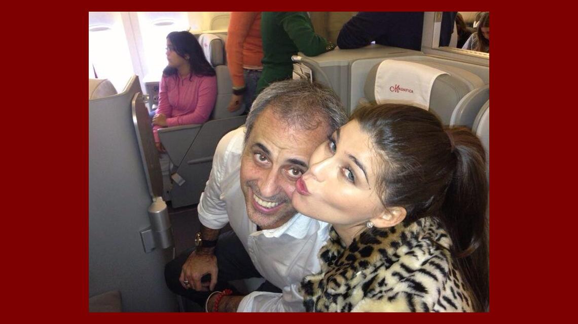 Jorge Rial se fue de vacaciones con sus hijas y La Niña Loly