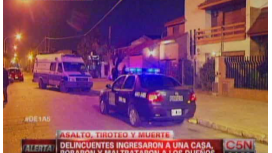 Robo, persecución y tiroteo en Villa Luzuriaga: un muerto