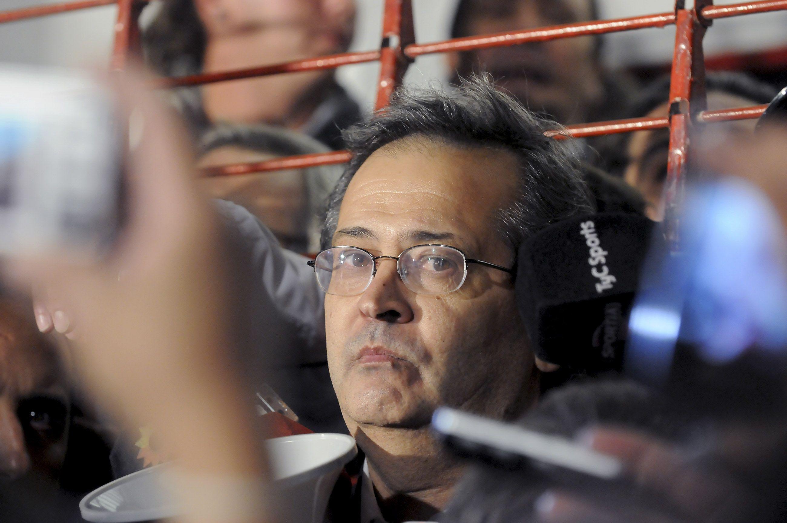 <p>Javier Cantero, ex presidente de Independiente</p>