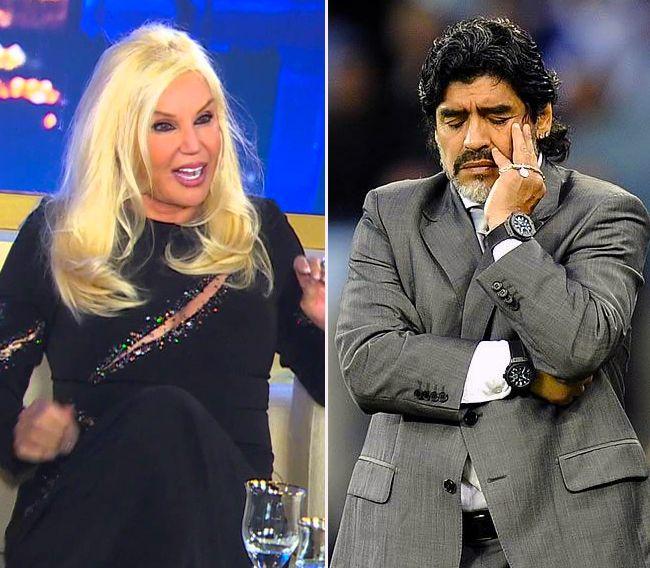 Susana Giménez se defiende: Yo a Diego no le hice nada