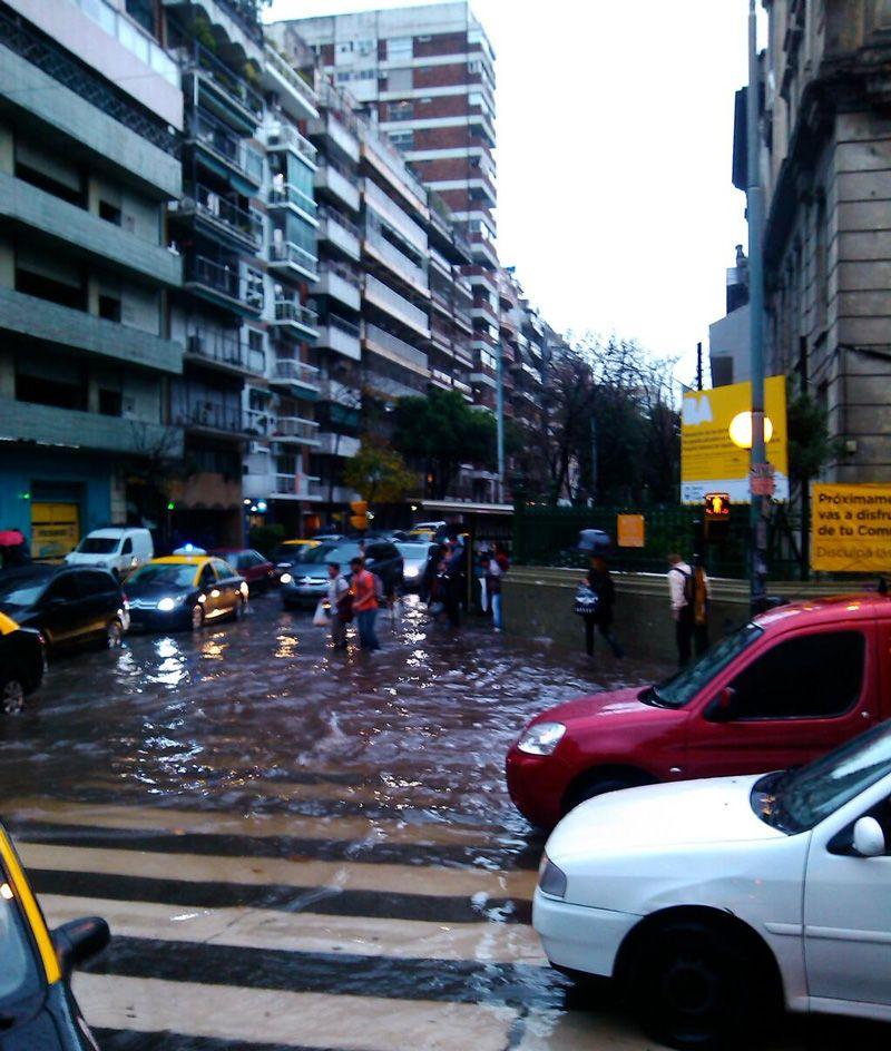 Inundaciones: Macri se reunió con el alcalde de Nueva York